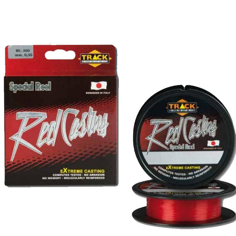 Πετονιά Track Red Casting