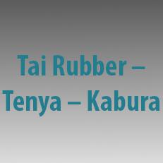 Μηχανισμοί Tai Rubber - Tenya - Kabura