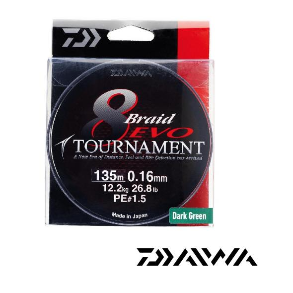daiwa tournament 8braid evo