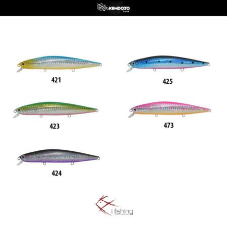 Ψαράκια Kendozo Spin Cast