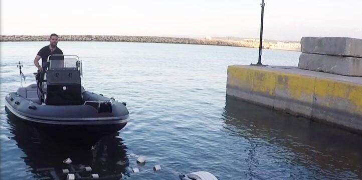 Μηχανισμός εύκολης ανέλκυσης και καθέλκυσης σκάφους - Βoat Catcher