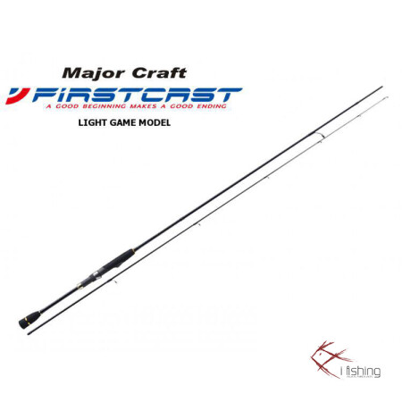 Καλάμι LRF Major Craft First Cast Light Game