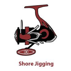 Μηχανισμοί Ψαρέματος  Shore Jigging