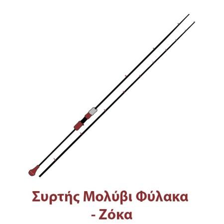 Καλάμια Συρτής Μολύβι Φύλακα - Ζόκα