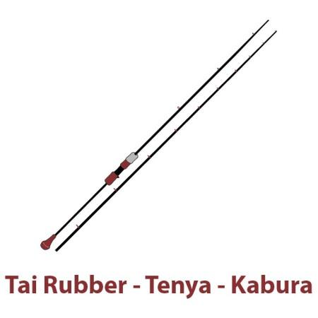 Καλάμια Tai Rubber - Tenya - Kabura