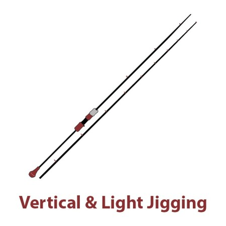 Καλάμια Vertical Jigging - Light Jigging